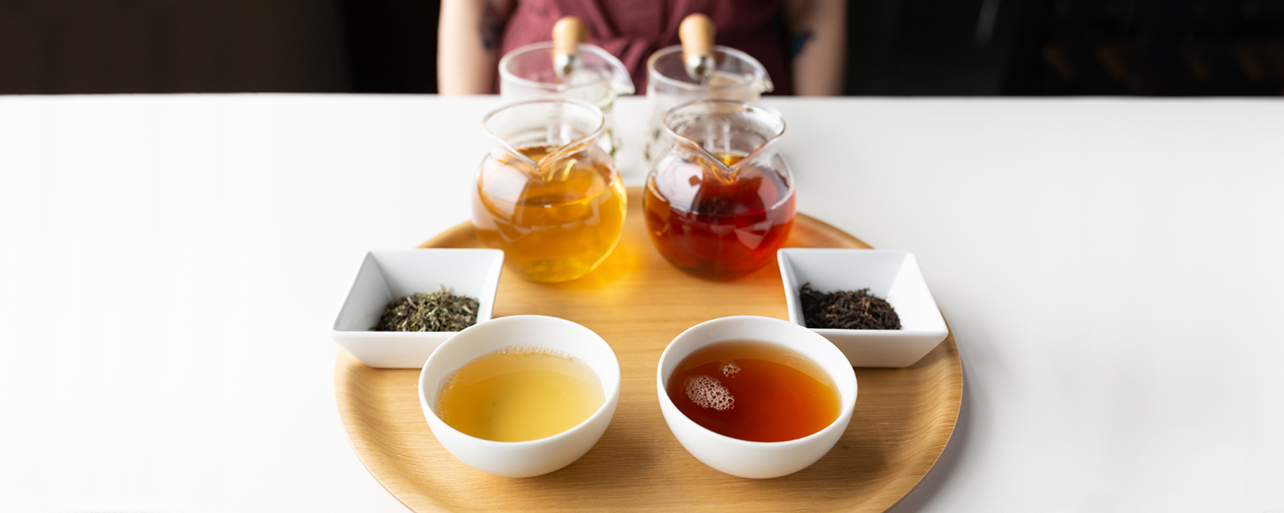 Tasting to Compare: Darjeeling 1st & 2nd Flush Teas