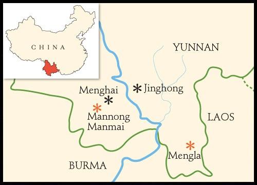 Mannong Manmai Map