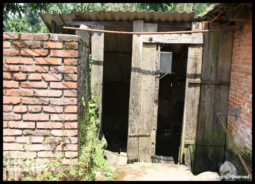 An Old Public Toilet