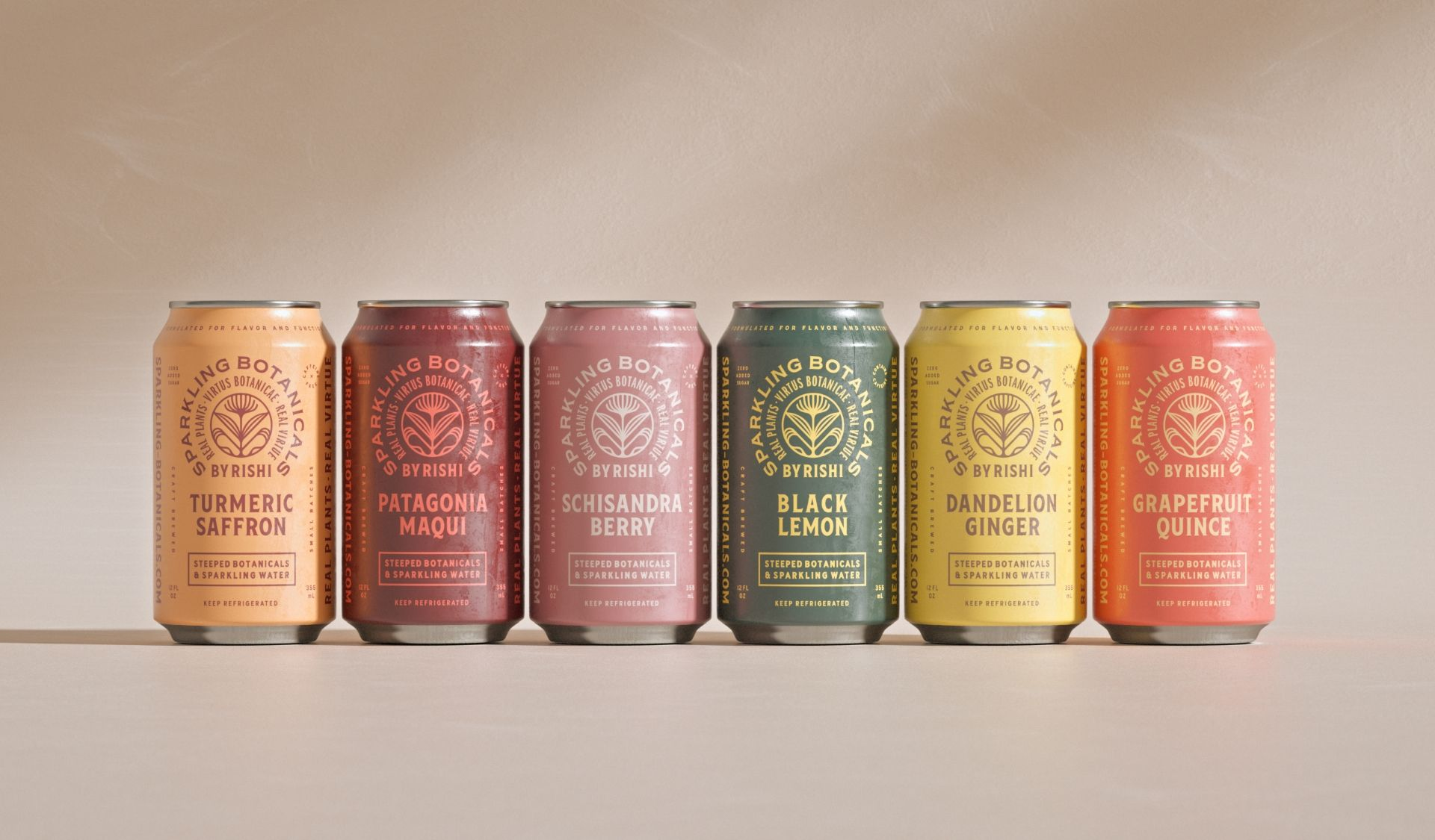"Rishi Tea & Botanicals unveils ""Sparkling Botanicals"" RTD Functional Beverage Line"