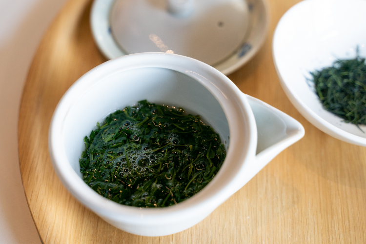 gyokuro hohin brewing tea