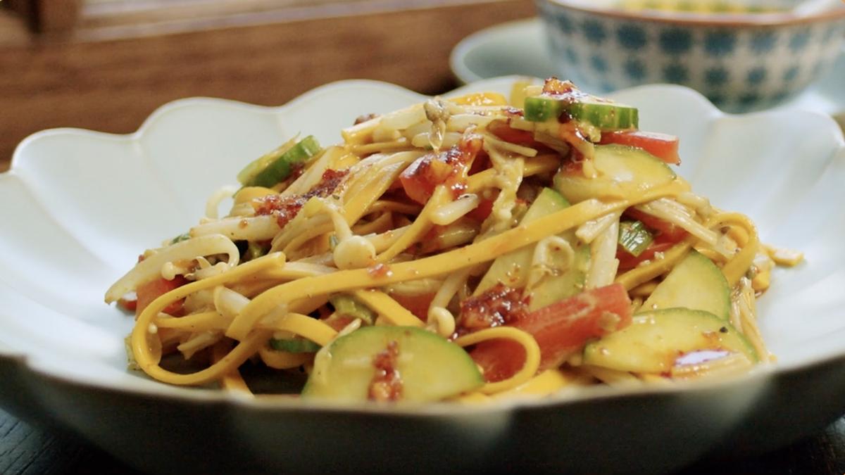 Turmeric Sesame Noodle