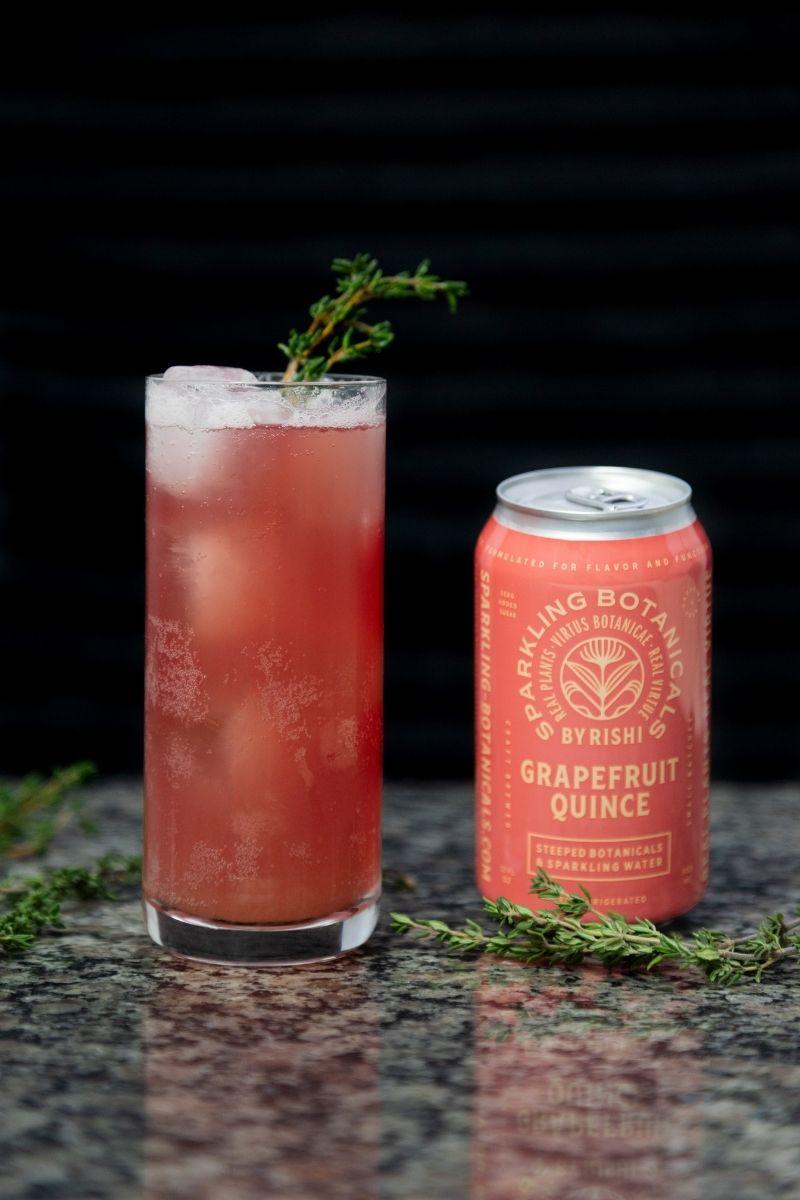 Grapefruit Quince & Thyme Spritz