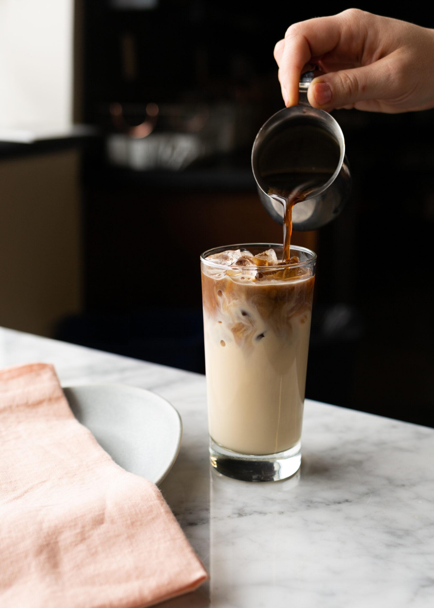 Coffee & Vanilla Bean Tea Latte