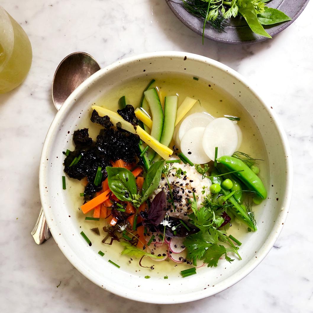 Garden Bowl With Sencha